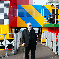 Sir Peter Blake and the Dazzle Ferry