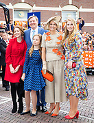 Koningsdag 2019 in Amersfoort / Kingsday 2019 in Amersfoort.<br /> <br /> Op de foto: Prinses Amalia, Ariane en Alexia  ///  Princess Amalia, Ariane and Alexia