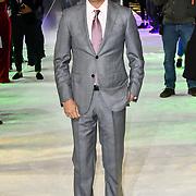 M. Night Shyamalan attends Premiere of M. Night Shyamalan's superhero thriller Glass, which follows Unbreakable and Split on 9 January 2019, London, UK.
