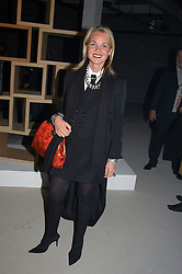 AMANDA ELIASCH at an exhibition of work by Rolf Sachs - a unique world-renowned contemporary furniture designer, held in association with the Louisa Guinness Gallery and held at 250 Brompron Road, London on 6th October 2004.<br />