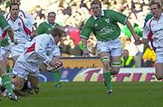 Twickenham. Surrey, UK., 16th February 2002, Six Nations International Rugby,  RFU Stadium, England vs Ireland,  [Mandatory Credit: Peter Spurrier/Intersport Images],<br /> <br /> The Lloyds TSB Six Nations Championship<br /> England v Ireland<br /> RFU - Twickenham<br /> 16/02/2002<br /> <br /> <br /> <br />  <br /> <br /> <br /> <br /> <br /> <br /> <br /> <br /> <br /> <br /> <br /> Salesi Finau