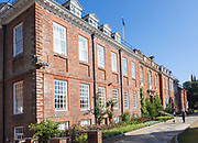 Historic buildings in grounds of Marlborough College school, Marlborough, Wiltshire, England, UK