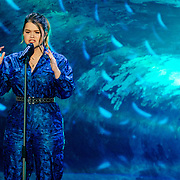 NLD/Hilversum/20190201- TVOH 2019 1e liveshow, optreden Irene Dings