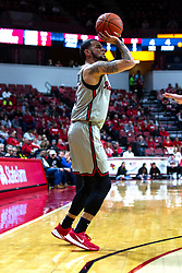 NORMAL, IL - February 26: Ricky Torres shoots for three points during a college basketball game between the ISU Redbirds and the Bradley Braves on February 26 2020 at Redbird Arena in Normal, IL. (Photo by Alan Look)