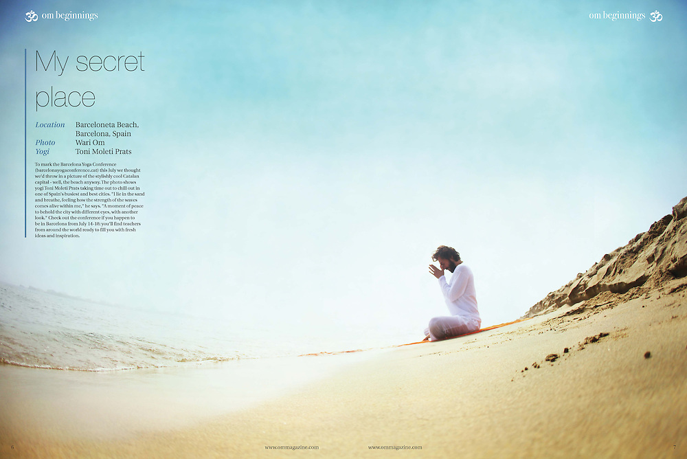 Om Yoga Magazine, designed to inspire and to energise, OM magazine wants to help you enjoy a more active and rewarding life, drawing on the physical and mental disciplines of yoga, an ancient practice just as popular today as it was thousands of years ago.<br /> www.ommagazine.com