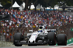 November 11, 2017 - Sao Paulo, Brazil - Motorsports: FIA Formula One World Championship 2017, Grand Prix of Brazil, ..#19 Felipe Massa (BRA, Williams Martini Racing) (Credit Image: © Hoch Zwei via ZUMA Wire)