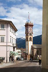 Cavalese, Palazzo della Magnifica Comunità di Fiemme, a museum,  Dolomite Mountains, Trento, Italy