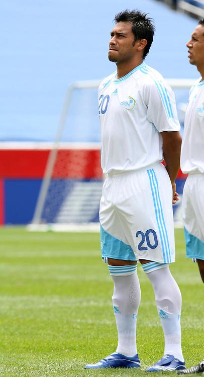 16 June 2007: Guatemala's Carlos Ruiz. The Canada Men's National team defeated the Guatemala Men's National Team 3-0 at Gillette Stadium in Foxboro, Massachusetts in a 2007 CONCACAF Gold Cup quarterfinal.