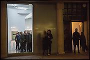 Dexter Dalwood. - London Paintings, private view, simon lee gallery, 12 berkeley st. w1. 17 Nov 2014