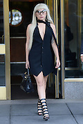 Sept. 15, 2015 - New York, NY, USA -<br /> <br /> Lady Gaga was seen leaving her apartment  in New York City<br /> ©Exclusivepix Media