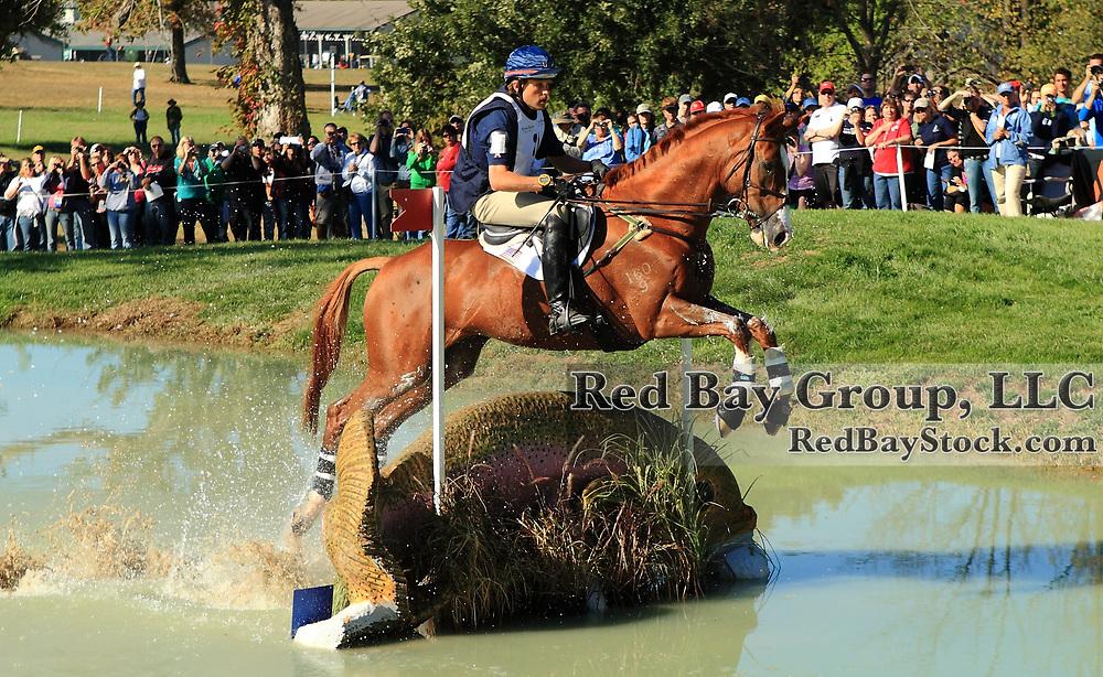 Boyd Martin and Neville Bardos at the 2010 Alltech FEI World Equestrian Games, Lexington, Kentucky.