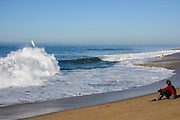 The Wedge Surf Spot in Newport Beach California