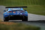 August 23, 2015: IMSA GT Race: Virginia International Raceway  #007 Neilsen, Davison, Davis, GBR TRG Aston Martin V12 Vantage GTD