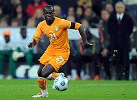 Fotball<br /> Tyskland v Elfenbenskysten<br /> Foto: Witters/Digitalsport<br /> NORWAY ONLY<br /> <br /> 18.11.2009<br /> <br /> Cheik Tiote<br /> Fussball Elfenbeinkueste<br /> Fussball Testspiel Deutschland - Elfenbeinkueste 2:2