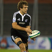 Luke Whitelock, New Zealand, in action during the Australia V New Zealand Final match at the IRB Junior World Championships in Argentina. New Zealand won the match 62-17 at Estadio El Coloso del Parque, Rosario, Argentina,. 21st June 2010. Photo Tim Clayton...