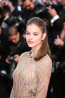 Barbara Palvin attends the gala screening of Lawless at the 65th Cannes Film Festival. The screenplay for the film Lawless was written by Nick Cave and Directed by John Hillcoat. Saturday 19th May 2012 in Cannes Film Festival, France.