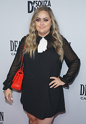 Naz Barouti at Death Of A Nation Los Angeles Premiere held at Regal L.A. Live: A Barco Innovation Center on July 31, 2018 in Los Angeles, California, United States (Photo by Jc Olivera for Jade Umbrella)