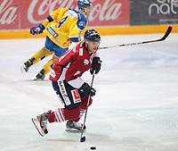 Ishockey , Get-Ligaen<br /> 25.02.14<br /> Hamar OL-Amfi<br /> Storhamar v Lillehammer<br /> Foto : Dagfinn Limoseth , Digitalsport<br /> Matt Case , Lillehammer