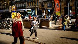 Street scene near the metro in the Boulevard de Strasbourg, Toulouse, France<br /> <br /> (c) Andrew Wilson | Edinburgh Elite media