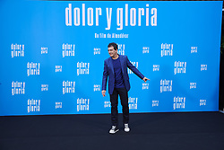 March 12, 2019 - Madrid, Madrid, Spain - Antonio Banderas attends 'Dolor y Gloria' Photocall at Villamagna Hotel on March 12, 2019 in Madrid, Spain (Credit Image: © Jack Abuin/ZUMA Wire)