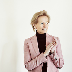 PARIS, FRANCE. MARCH 27, 2013. Jacqueline de Guillenchmidt, former member of the Constitutional Council of France. Photo: Antoine Doyen