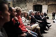 Daniela Santanchè attends the launch of the book 'Sale, Zucchero e Caffe' by journalist Bruno Vespa at the hall of the 'Tempio di Adriano'. Rome December 4, 2013.  Christian Mantuano / OneShot