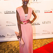NLD/Amsterdam/20130923 - Grazia Red Carpet Awards 2013, Sylvana Simons