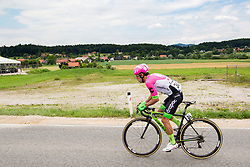 Rigoberto Uran of Team EF Education Cannondale during 3rd Stage of 25th Tour de Slovenie 2018 cycling race between Slovenske Konjice and Celje (175,7 km), on June 15, 2018 in  Slovenia. Photo by Vid Ponikvar / Sportida