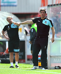 Bristol Rovers manager, Darrell Clarke - Mandatory by-line: Dougie Allward/JMP - 25/07/2015 - SPORT - FOOTBALL - Cheltenham Town,England - Whaddon Road - Cheltenham Town v Bristol Rovers - Pre-Season Friendly
