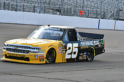 June 22, 2018 - Madison, Illinois, U.S. - MADISON, IL - JUNE 22:  Dalton Sargeant (25) driving a Chevrolet for Performance Plus Motor Oil warms up before the Camping World Truck Series - Eaton 200 on June 22, 2018, at Gateway Motorsports Park, Madison, IL.   (Photo by Keith Gillett/Icon Sportswire) (Credit Image: © Keith Gillett/Icon SMI via ZUMA Press)