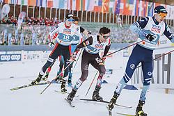 04.03.2021, Oberstdorf, GER, FIS Weltmeisterschaften Ski Nordisch, Oberstdorf 2021, Herren, Nordische Kombination, Einzelbewerb, Langlauf, im Bild Lukas Greiderer (AUT) // Lukas Greiderer of Austria during the Cross Country Competition of men Nordic combined Single of FIS Nordic Ski World Championships 2021 in Oberstdorf, Germany on 2021/03/04. EXPA Pictures © 2021, PhotoCredit: EXPA/ Dominik Angerer