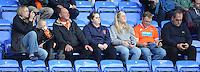Blackpool fans before today's game<br /> <br /> Photographer Kevin Barnes/CameraSport<br /> <br /> Football - The Football League Sky Bet Championship - Reading v Blackpool - Saturday 25th October 2014 - Madejski Stadium - Reading <br /> <br /> © CameraSport - 43 Linden Ave. Countesthorpe. Leicester. England. LE8 5PG - Tel: +44 (0) 116 277 4147 - admin@camerasport.com - www.camerasport.com