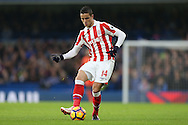 Ibrahim Afellay of Stoke City in action.Premier league match, Chelsea v Stoke city at Stamford Bridge in London on Saturday 31st December 2016.<br /> pic by John Patrick Fletcher, Andrew Orchard sports photography.