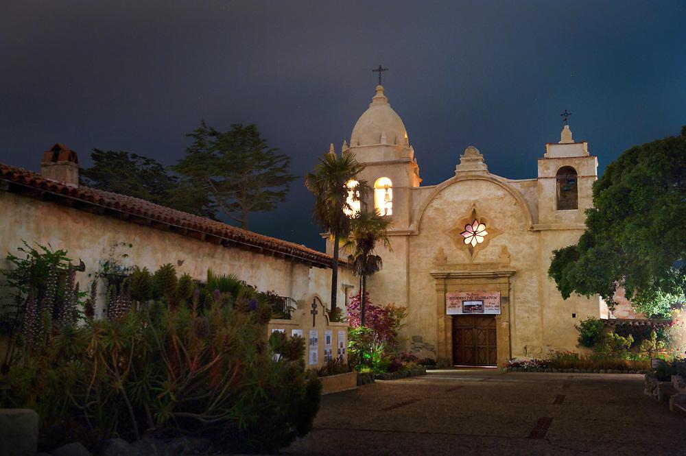 Carmel Mission. Carmel, California.