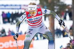 March 16, 2019 - Falun, SVERIGE - 190316 Stina Nilsson of Sweden  during the FIS Cross-Country World Cup on march 16, 2019 in Falun  (Credit Image: © Daniel Eriksson/Bildbyran via ZUMA Press)
