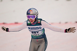 24.11.2012, Lysgards Schanze, Lillehammer, NOR, FIS Weltcup, Ski Sprung, Damen, im Bild Hendrickson Sarah (USA) during the womens competition of FIS Ski Jumping Worldcup at the Lysgardsbakkene Ski Jumping Arena, Lillehammer, Norway on 2012/11/23. EXPA Pictures © 2012, PhotoCredit: EXPA/ Federico Modica