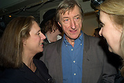 SUSAN BOYD AND JULIAN BARNES , party to celebrate the 100th issue of Granta magazine ( guest edited by William Boyd.) hosted by Sigrid Rausing and Eric Abraham. Twentieth Century Theatre. Westbourne Gro. London.W11  15 January 2008. -DO NOT ARCHIVE-© Copyright Photograph by Dafydd Jones. 248 Clapham Rd. London SW9 0PZ. Tel 0207 820 0771. www.dafjones.com.