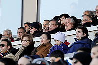 Real Madrid´s president Florentino Perez during 2014-15 Spanish Second Division match between Real Madrid Castilla and Athletic Club B at Alfredo Di Stefano stadium in Madrid, Spain. February 08, 2015. (ALTERPHOTOS/Luis Fernandez)