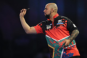 Devon Peterson during the World Darts Championships 2018 at Alexandra Palace, London, United Kingdom on 28 December 2018.