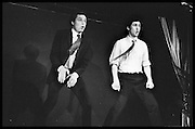 Performance of The Comic Strip,  Boulevard Theatre, next to the Raymond Revue, Walkers court , Soho. London. 1981