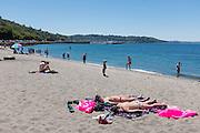 Seattle: Marina and beach N of Ballard