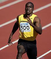 Friidrett, 6. august 2005, VM Helsinki, <br /> World Championship in Athletics<br /> Dwight Thomas, Jam 10 metres