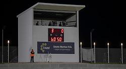 3-0 til FC Helsingør efter en times spil af kampen i 1. Division mellem FC Helsingør og Silkeborg IF den 11. september 2020 på Helsingør Stadion (Foto: Claus Birch).