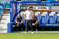 Barnsley Manager Gerhard Struber during the EFL Sky Bet Championship match between Queens Park Rangers and Barnsley at the Kiyan Prince Foundation Stadium, London, England on 20 June 2020.