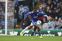 March 16, 2019 - Burnley, Lancashire, United Kingdom - BURNLEY, UK 16TH MARCH Wilfred Ndidi of Leicester City and Dwight McNeil of Burnley during the Premier League match between Burnley and Leicester City at Turf Moor, Burnley on Saturday 16th March 2019. (Credit: Mark Fletcher   MI News) (Credit Image: © Mi News/NurPhoto via ZUMA Press)