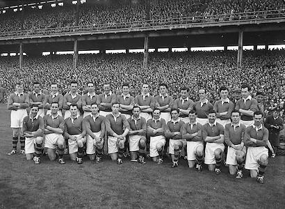 All Ireland Football Final Senior teams Kerry v Meath 26th September 1954 ..26.09.1954  26th Septmber 1954
