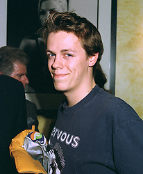MR TOM PARKER BOWLES, son of Camilla Parker Bowles, at a party in London on 22nd October 1997.MCJ 56