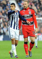 Jake Livermore of West Bromwich Albion gives orders-Mandatory by-line: Nizaam Jones/JMP - 24/02/2018 - FOOTBALL - The Hawthorns - West Bromwich, England - West Bromwich Albion v Huddersfield Town- Premier League