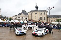 June 11, 2018 - Le Mans, FRANCE - 82 BMW TEAM MTEK (DEU) BMW M8 GTE AUGUSTO FARFUS (BRA) ANTONIO FELIX DA COSTA (PRT) ALEXANDER SIMS (GBR) #81 BMW TEAM MTEK (DEU) BMW M8 GTE MARTIN TOMCZYK (DEU) NICKY CATSBURG (NLD) PHILIPP ENG  (Credit Image: © Panoramic via ZUMA Press)