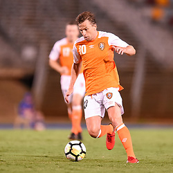 BRISBANE, AUSTRALIA - JANUARY 23: Brett Holman of the Roar in action during the AFC Champions League Second Preliminary Round match between Brisbane Roar and Ceres Negros FC on January 23, 2017 in Brisbane, Australia. (Photo by Patrick Kearney)
